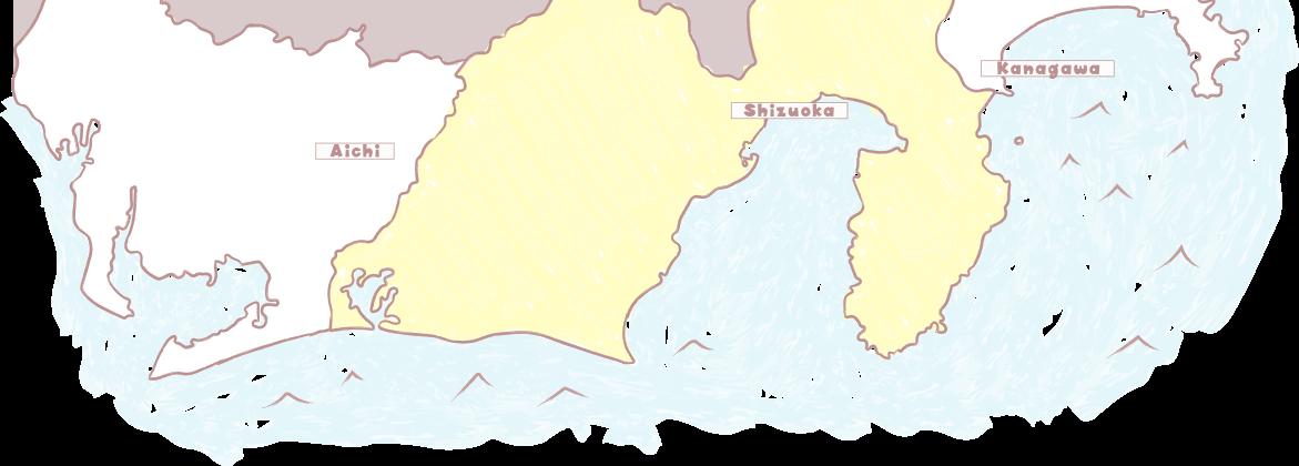 地図:西伊豆